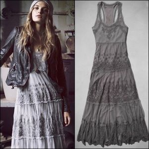 Abercrombie Tristen Lace Maxi Dress Sz M